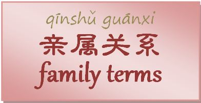 Chinese Family Terms