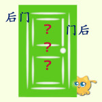 Back Door Or Behind The Door – Brief Look at Chinese Word Order